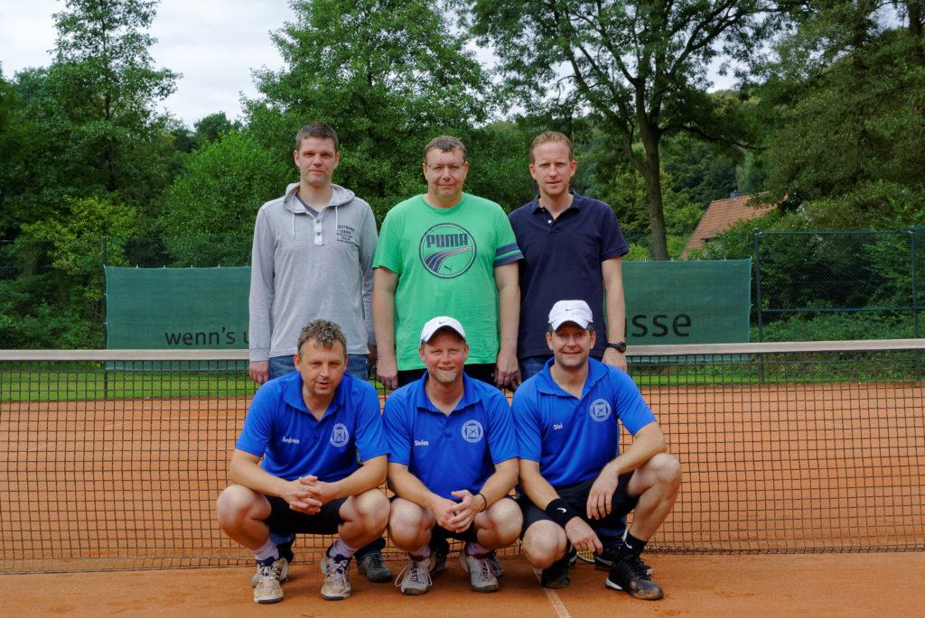Mannschaft Herren 40 TC Brochterbeck
